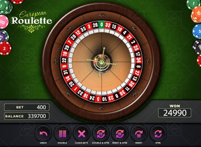 playing roulette online