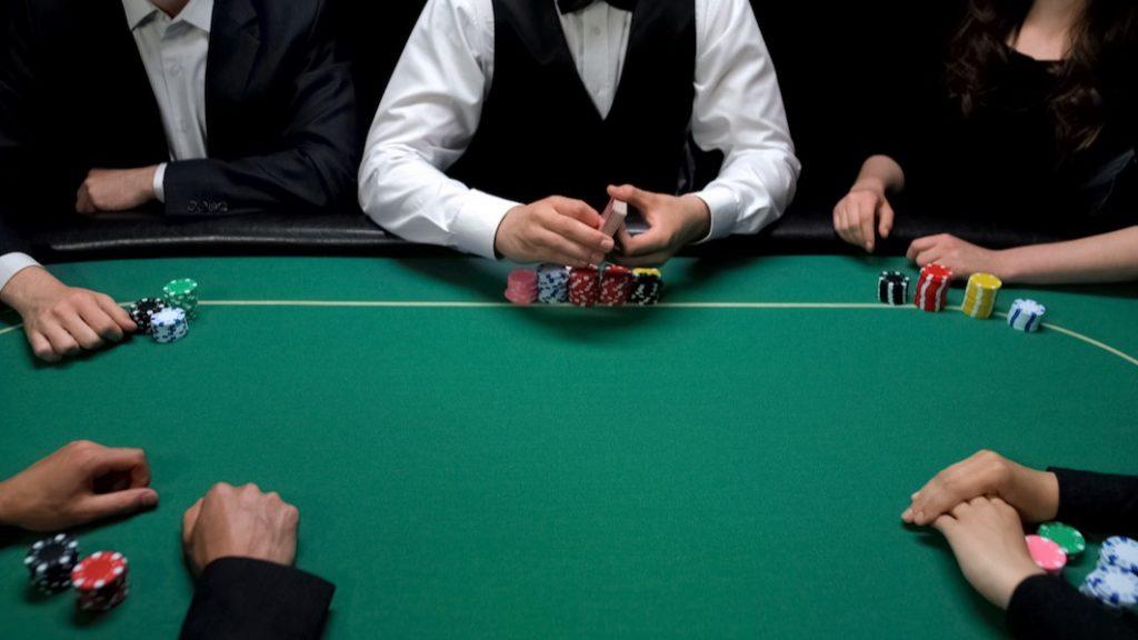 poker stunts